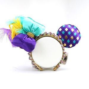 Disney Mardi Gras Feathered Minnie Ears